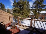Cedars 43 Deck view