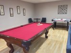Family Room: Pool Table