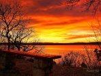 Sunset in Crikvenica