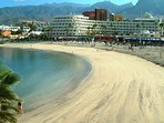 Long, clean and sandy beaches of Tenerife