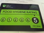 Food rating at Frenches Farm
