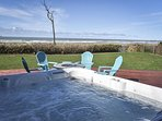 Enjoy hot tubbing in the sunshine or under the stars!