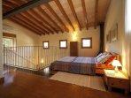 Mezzanine double bedroom