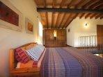 Mezzanine double bedroom with A/C