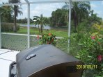 Cook some barbecue while staring at the beautiful scenery