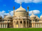 Make sure you visit Brighton and its famous Pavilion (open all year!)