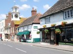 The picturesque High Street has wonderful independently run shops, pubs and restaurants.