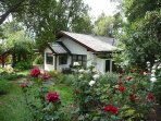 Casa Fischer del Lago, rodeada de bosque nativo, a pasos de la Av. Bustillo altura km 18.