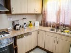 Our kitchen is fully equipped with a big variety of appliances and kitchenware for cooking