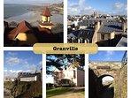 Visite de la ville de Granville.