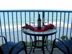 The ocean at your feet... from your private balcony