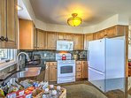 Bring your favorite meals and snacks to life in the fully equipped kitchen.