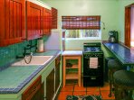 Open, Sunny Kitchen with All New Appliances, Coffee Maker, Blender, Cookware,...