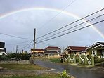 Rainbow beautified the sky after a light shower of rain...welcome to the tranquil Stonebrook Vista