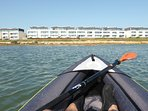 Two kayaks are available by special arrangement and at a supplement