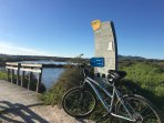Two bikes are available.  Enjoy a ride along the Ecovia and through the salt marshes