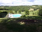 Ancienne Ferme rénovée avec dépendance et piscine dans grande propriété isolée