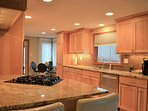 Enjoy all the comforts of home making meals in your well appointed executive kitchen.