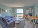 The third floor unit boasts 500 square feet of comfortable living space.