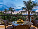 Enjoy sunsets from the lanai after another day in