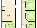 Cottage floorplan