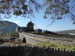 The iconic Eilean Donan Castle