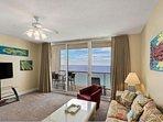 Full Living Room + Ocean View