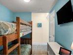 Bunk Beds + TV