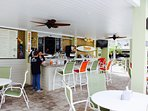 Pearly's Beach Eats is our poolside bar