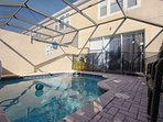 Splash Pool w/Safety Fence and Patio Seating