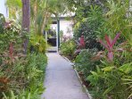 Pathway to your vacation home