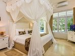Mosquito net available in each rooms