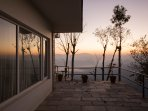 Breathtaking views of sunrise from your porch.