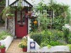 Gardeners cottage front garden