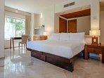 Riviera Maya Haciendas, Casa Arena - Master Bedroom 1: King Size, A/C, Safe, TV, Fan, Bathroom