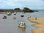 Summerleaze beach at Bude is only 20 minutes away