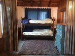 Porch area with bunks