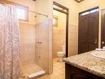 Guest bathroom (shared between rooms with twin beds)