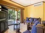 Guest house-TV area