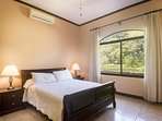 Guest bedroom in guest house, double bed