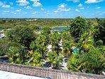Rooftop view of Yalku Lagoon