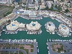 Ariel View of The Marina.