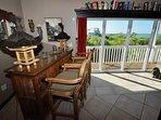 Tiki bar with great Gulf views !