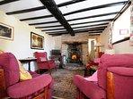 Cottage in Wales with log burner - lounge