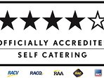 OFFICIALLY Accredited 4½ Star Rating