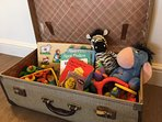Toy chest for little ones.