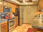 Let the chef of the group whip up your favorite recipes in the fully equipped kitchen.