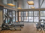 Work up a sweat in the community fitness center.