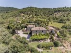 Historic hamlet nestled in the umbrian hills with breathtaking views