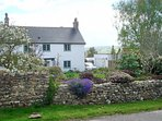 Delightful character cottage with cottage garden to the front